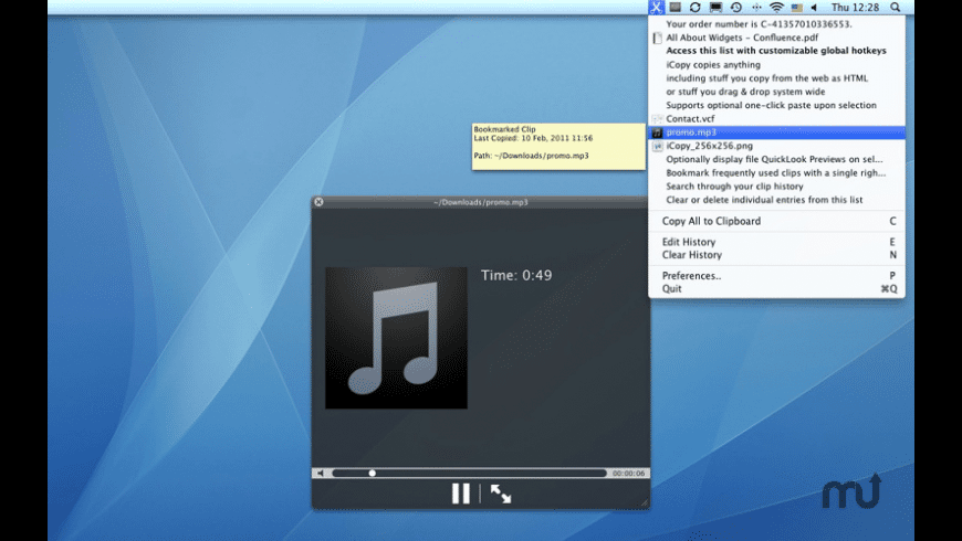 iCopy for Mac - review, screenshots