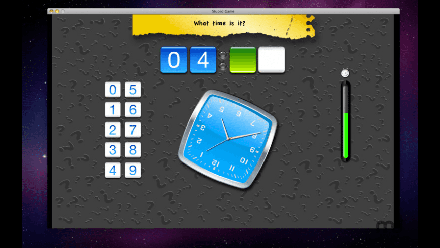 Stupid Game for Mac - review, screenshots