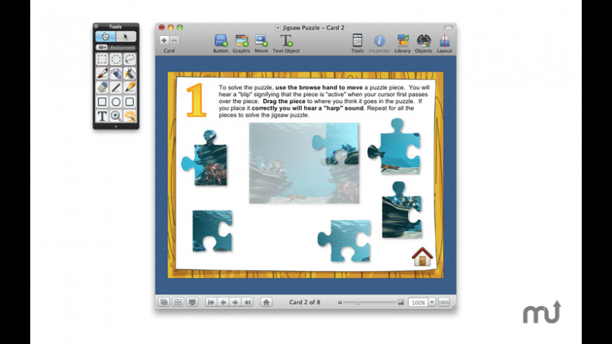 HyperStudio 5 for Mac - review, screenshots