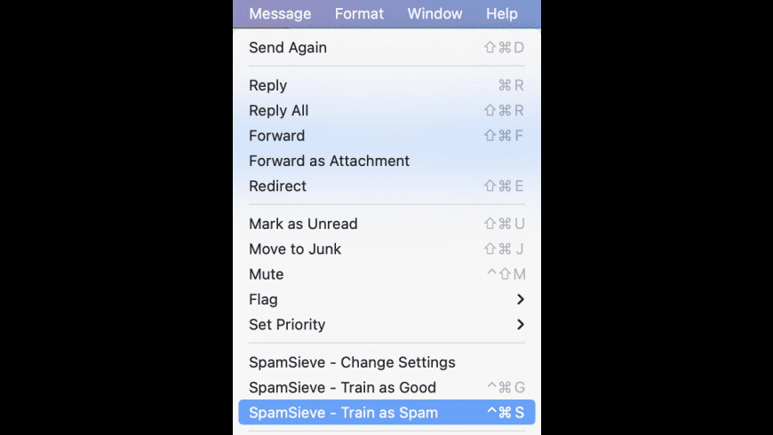 SpamSieve for Mac - review, screenshots