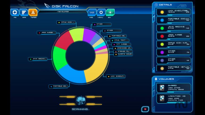Disk Falcon for Mac - review, screenshots