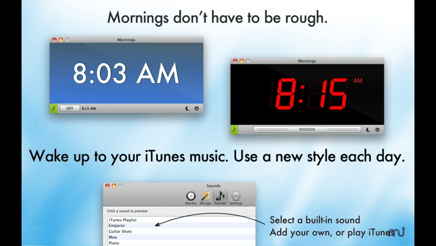 Mornings for Mac - review, screenshots