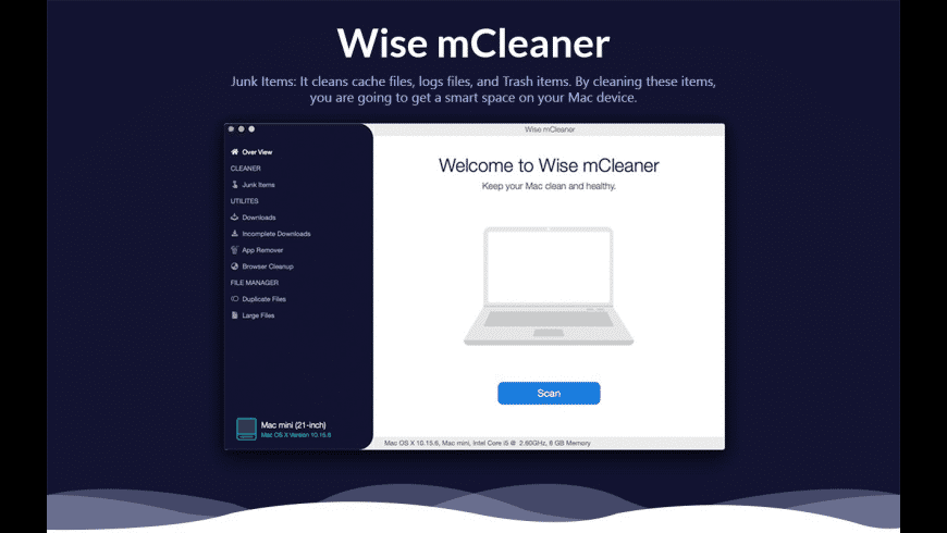 Wise mCleaner for Mac - review, screenshots