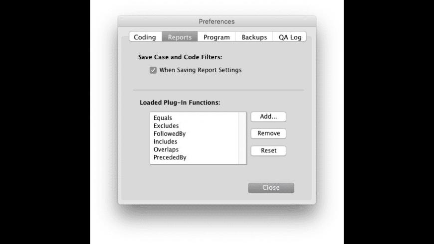HyperRESEARCH for Mac - review, screenshots