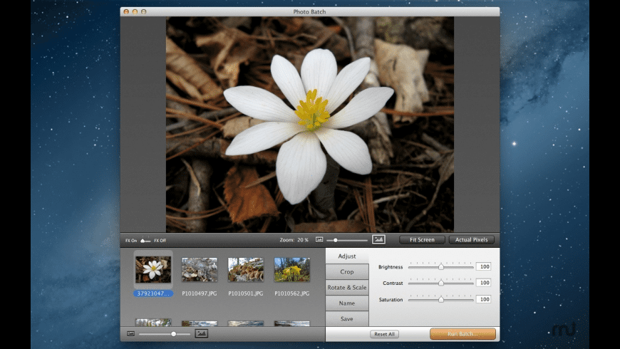 Photo Batch for Mac - review, screenshots