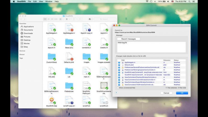 SnailSVN for Mac - review, screenshots