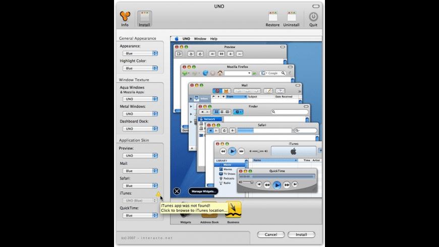 UNO for Mac - review, screenshots