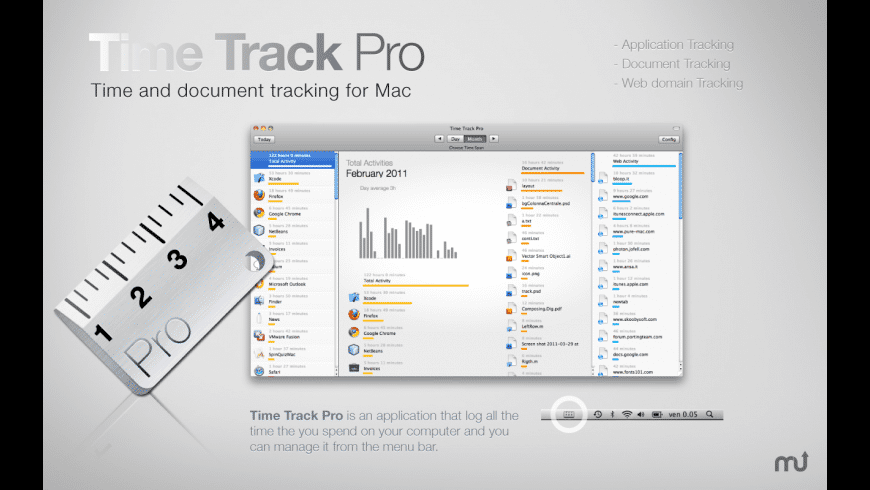 Time Track Pro for Mac - review, screenshots