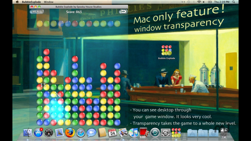 Bubble Explode for Mac - review, screenshots