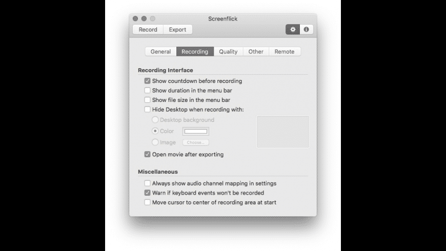 Screenflick for Mac - review, screenshots