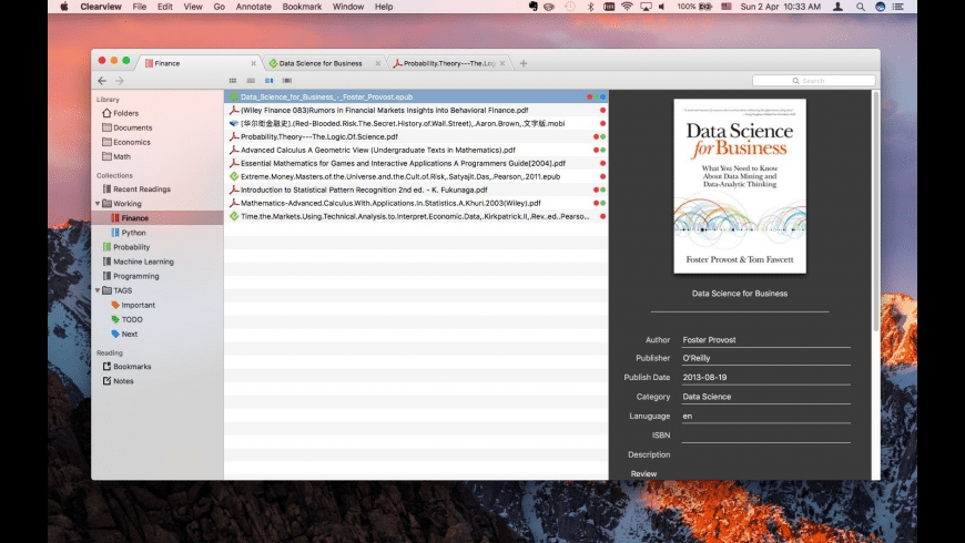 Clearview for Mac - review, screenshots