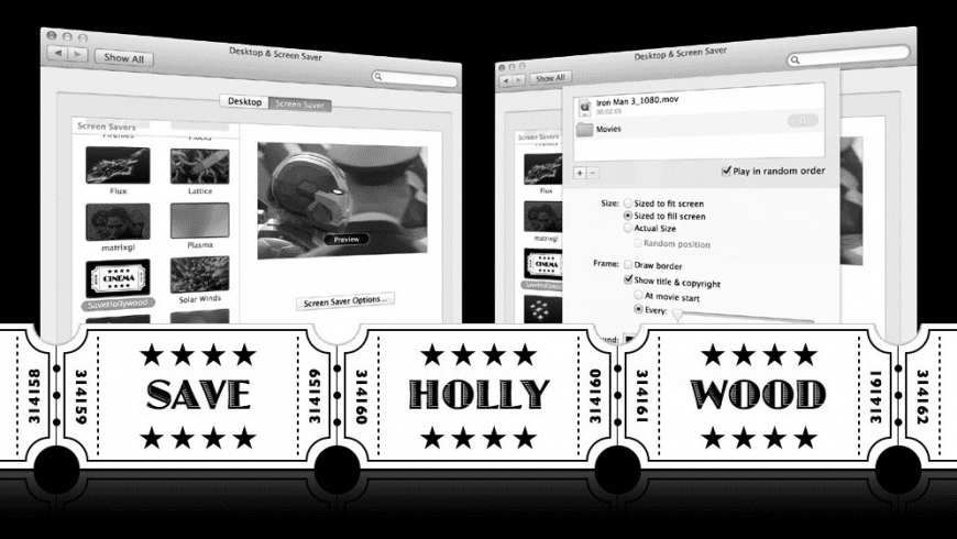 SaveHollywood for Mac - review, screenshots