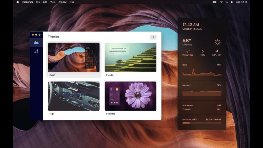 Hologram Desktop for Mac - review, screenshots