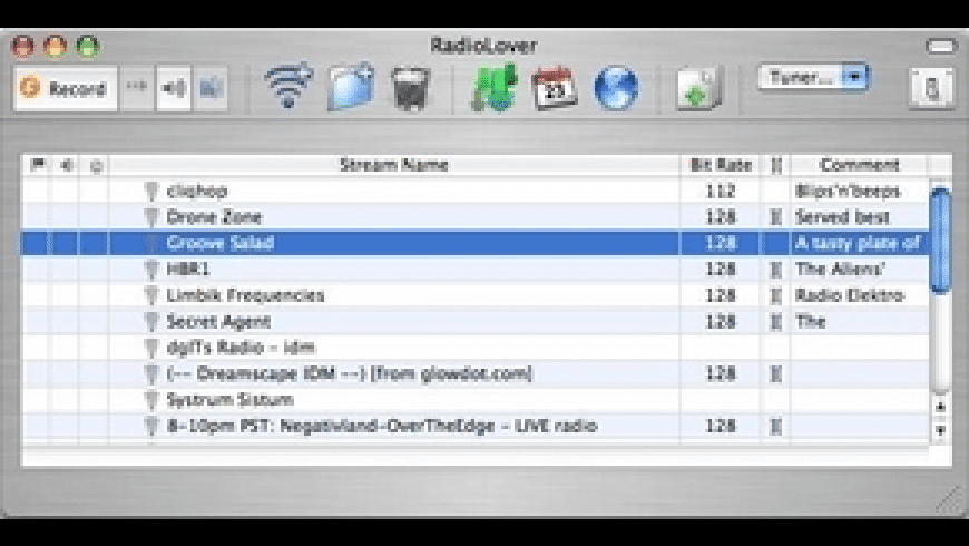 RadioLover for Mac - review, screenshots