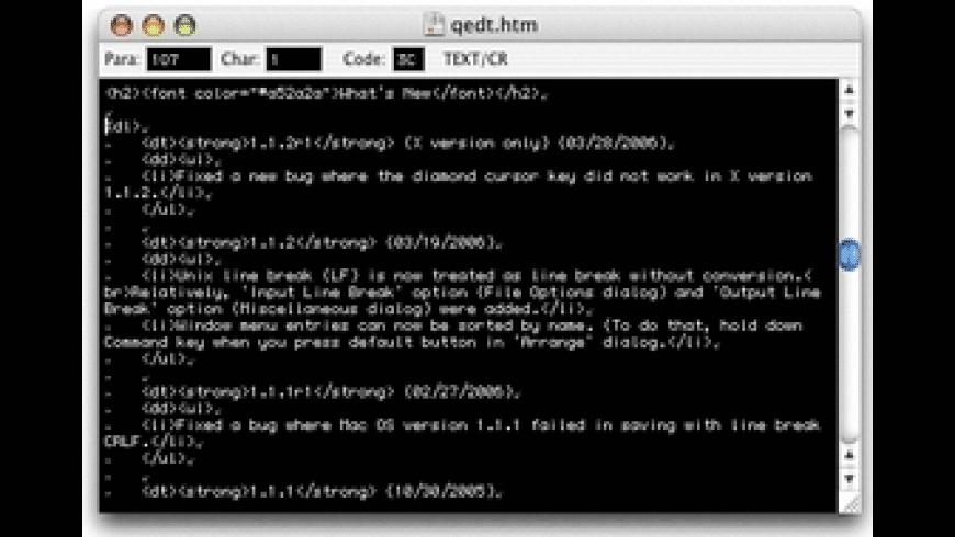 QuoEdit for Mac - review, screenshots