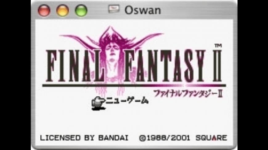 Oswan for Mac - review, screenshots