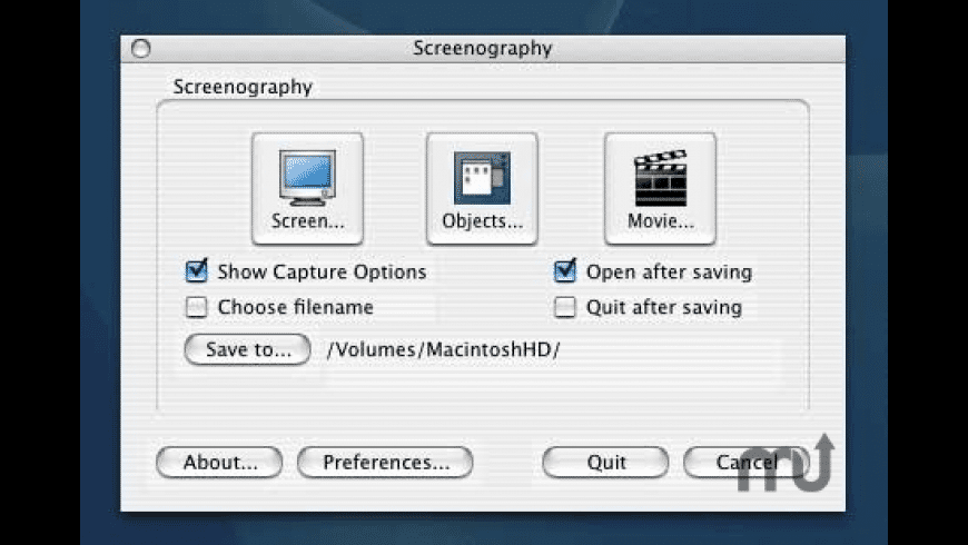 Screenography for Mac - review, screenshots