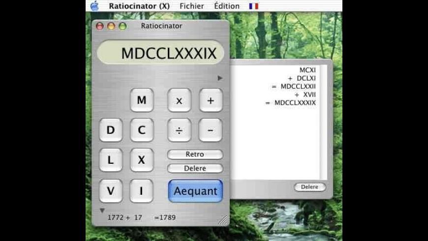 Ratiocinator for Mac - review, screenshots