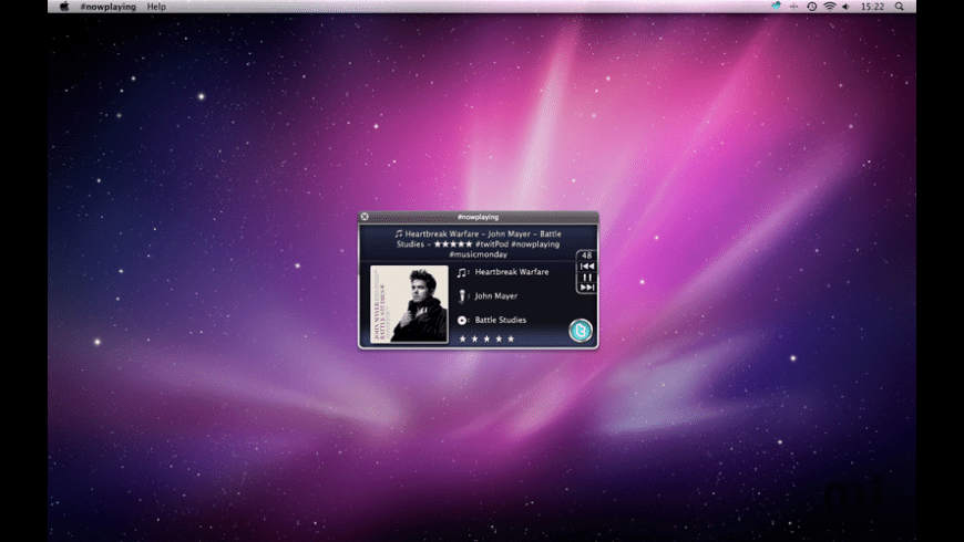nowplaying for Mac - review, screenshots
