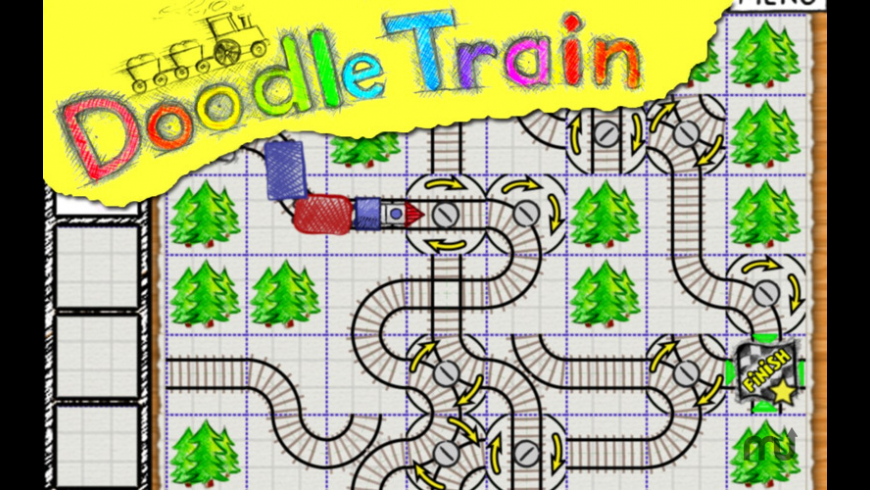 Doodle Train for Mac - review, screenshots