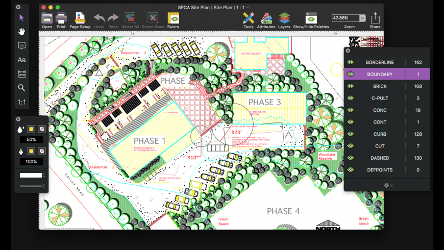 Microspot DWG Viewer for Mac - review, screenshots