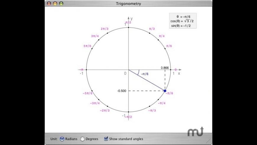 Trigonometry for Mac - review, screenshots