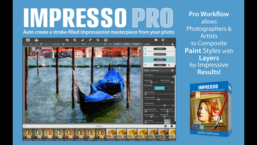 Artista Impresso Pro for Mac - review, screenshots