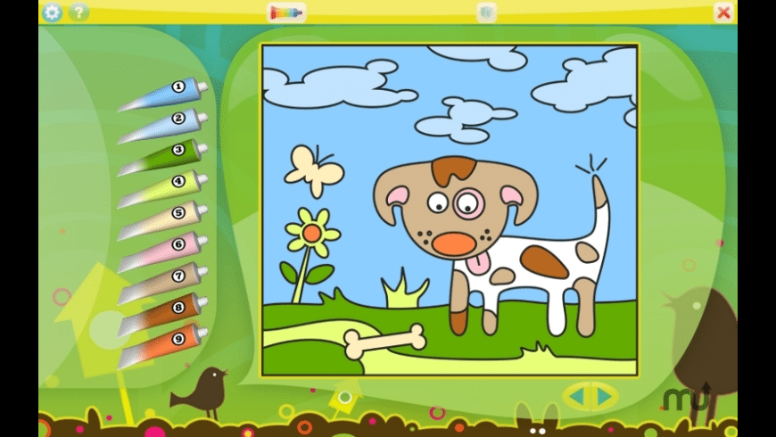 Color by Numbers - Animals for Mac - review, screenshots