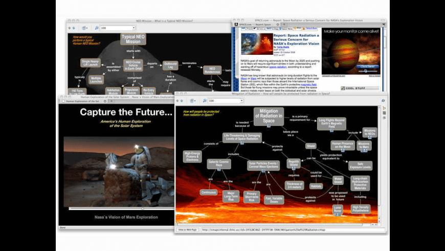 CmapTools for Mac - review, screenshots