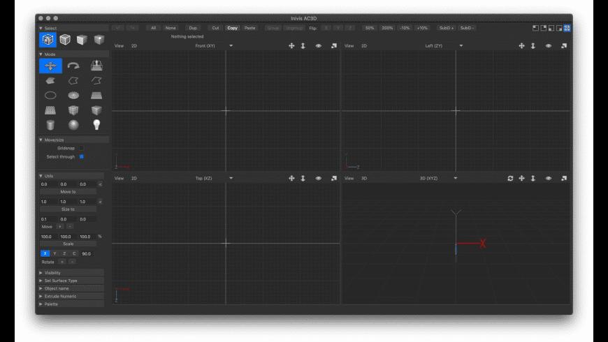 AC3D for Mac - review, screenshots