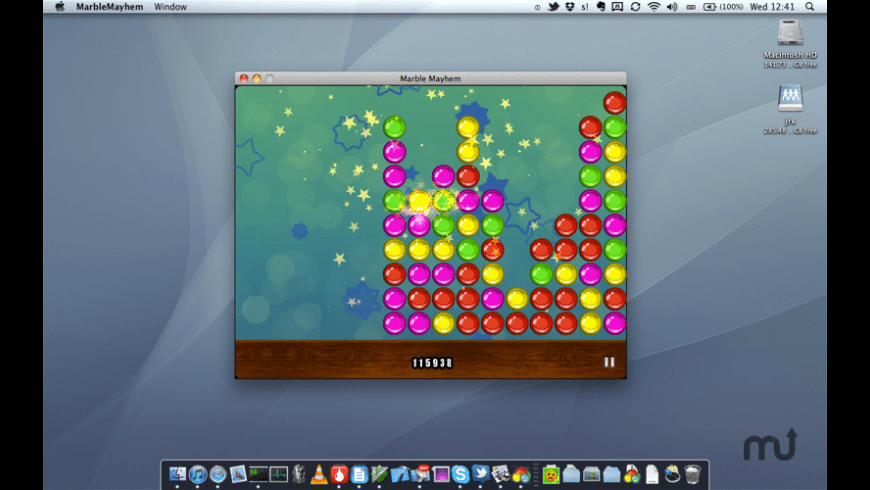 Marble Mayhem for Mac - review, screenshots