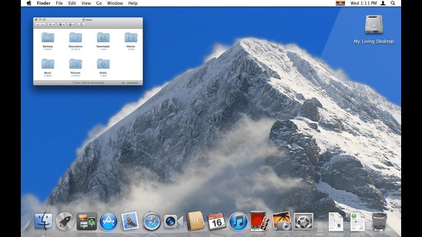 My Living Desktop for Mac - review, screenshots