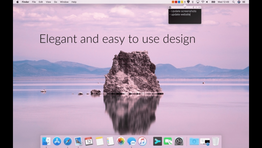 Notesey for Mac - review, screenshots