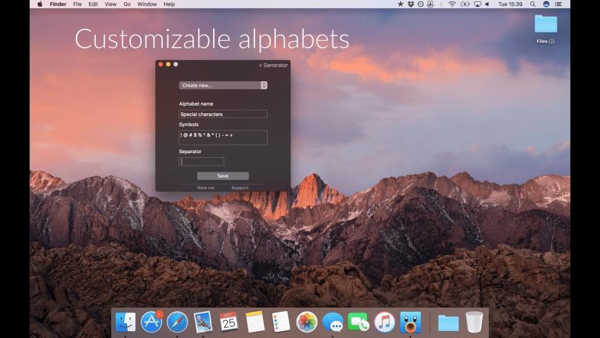 Nice Generator for Mac - review, screenshots
