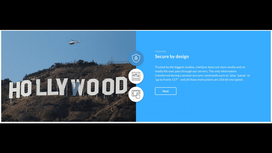 cineSync for Mac - review, screenshots