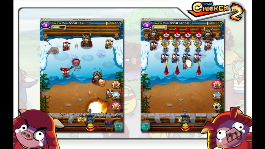 Ninja Chicken 2 for Mac - review, screenshots