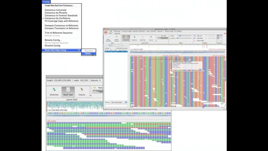 Sequencher for Mac - review, screenshots