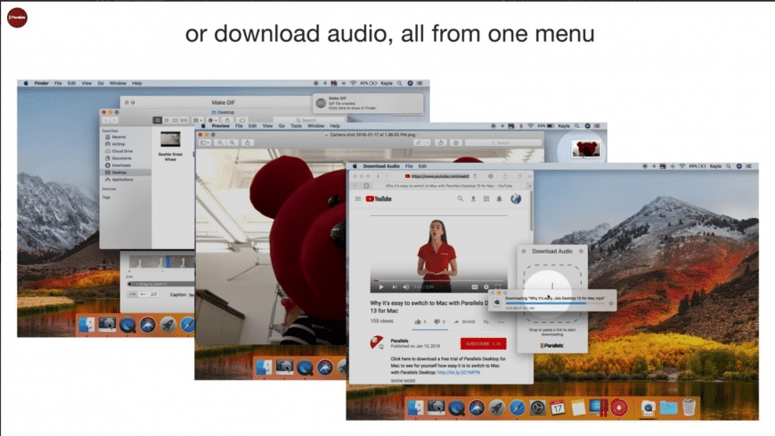 Parallels Toolbox for Mac - review, screenshots