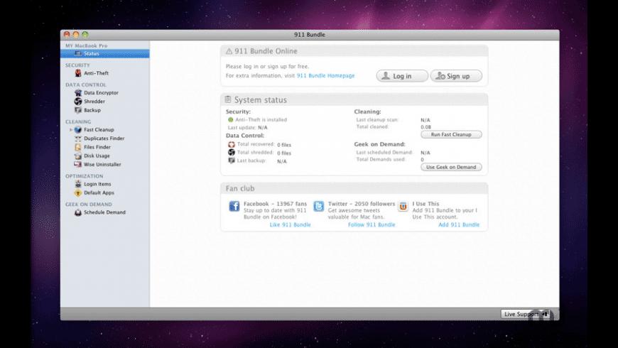 911 Bundle for Mac - review, screenshots