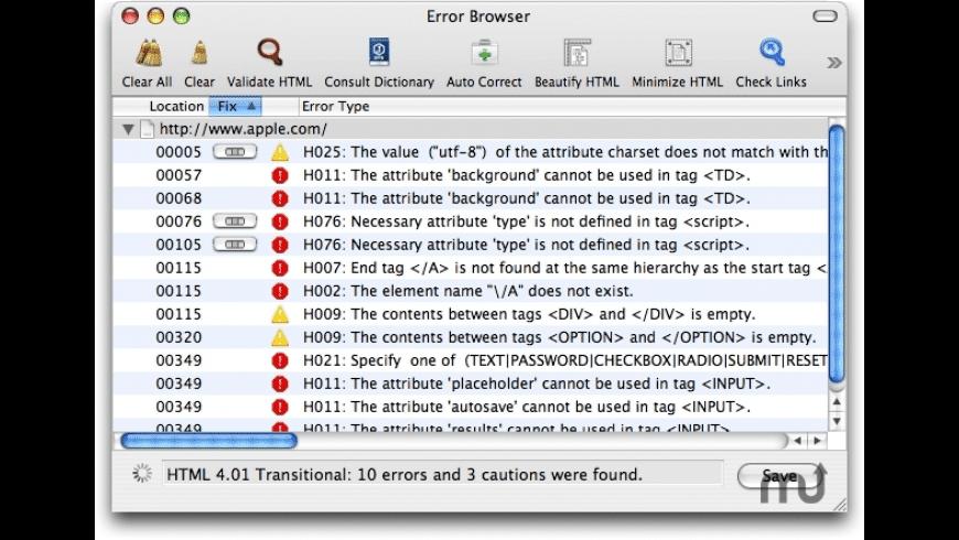 JChecker X for Mac - review, screenshots