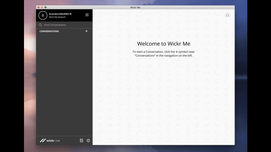 Wickr Me for Mac - review, screenshots