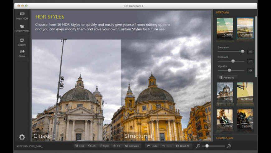 HDR Darkroom 3 for Mac - review, screenshots