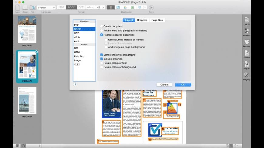 Readiris for Mac - review, screenshots