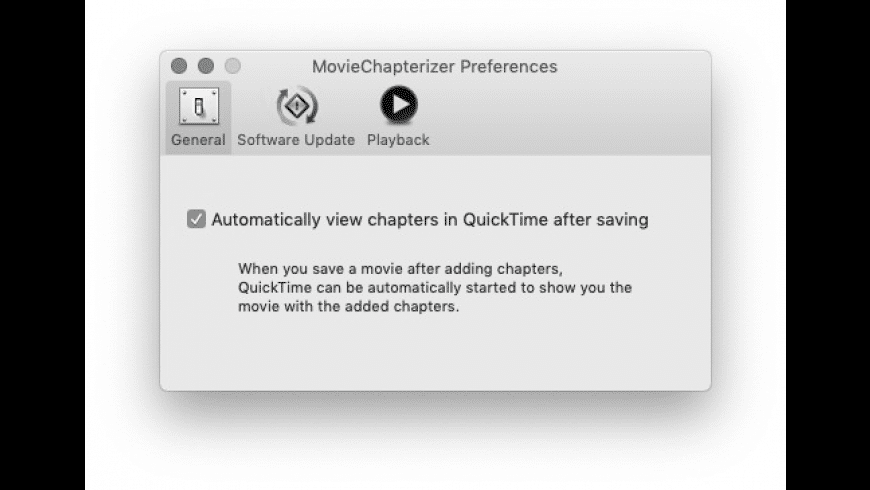 MovieChapterizer for Mac - review, screenshots