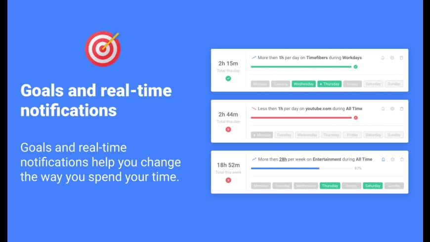 Timefibers for Mac - review, screenshots