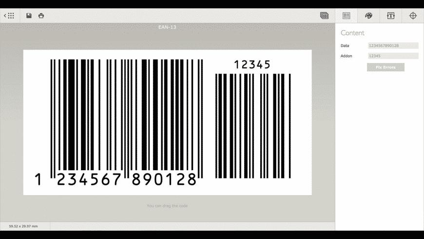 Barcode for Mac - review, screenshots