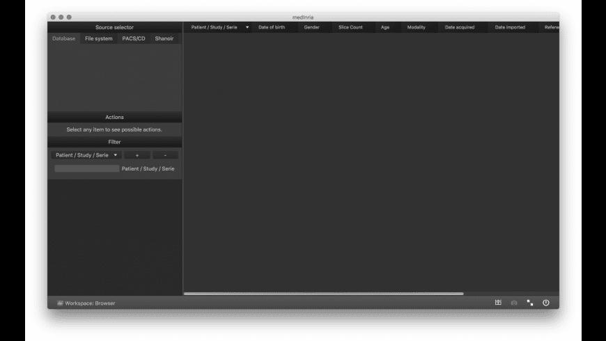 MedINRIA for Mac - review, screenshots