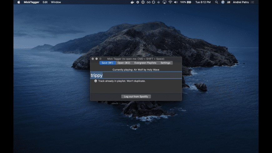 Mick Tagger for Mac - review, screenshots