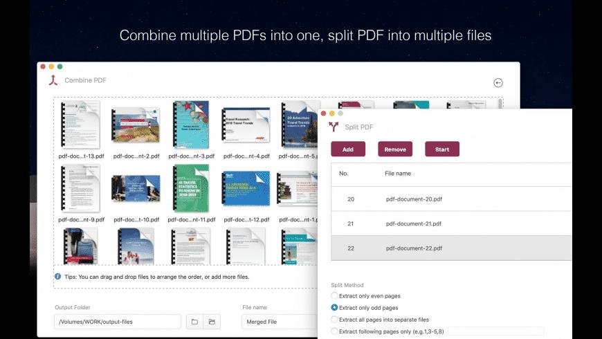 CleverPDF for Mac - review, screenshots