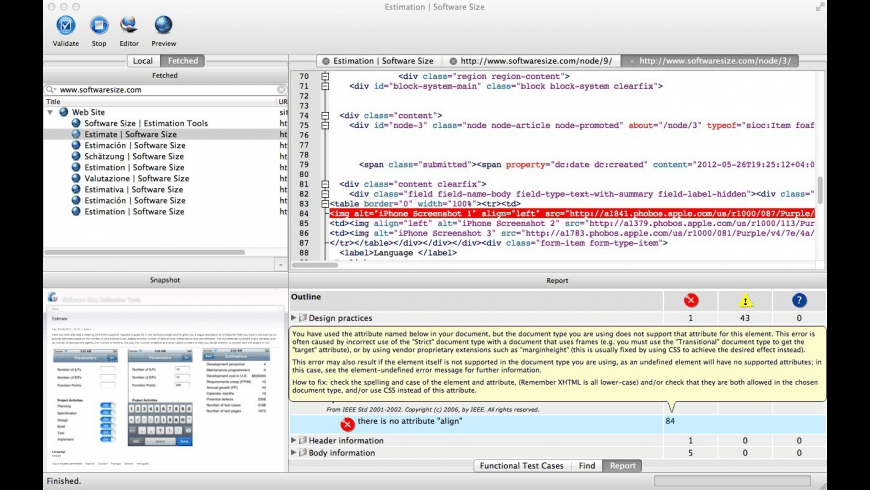 RightWebPage Professional for Mac - review, screenshots